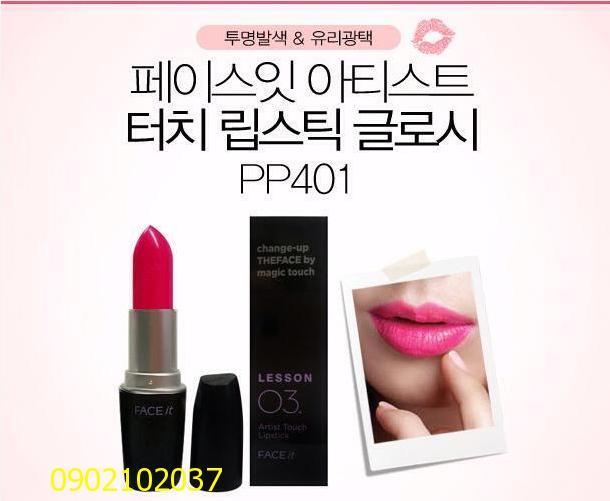 Son thỏi FACE IT Lesson 03 Hàn Quốc xịn 100%