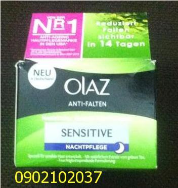 Kem dưỡng da chống nhăn Olaz Anti- Falten sensitive (đêm)