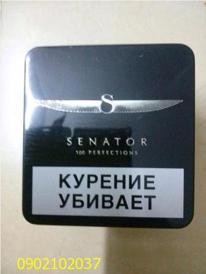 Thuốc Lá Thơm Hộp kim loại SENATOR - Nga