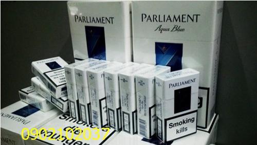 Thuốc lá  Parliament Aqua blue- Hàn Quốc