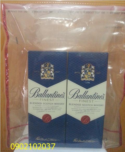 Rượu Ballantines Finest 1000ml hàng Châu Âu - Duty free shop xách tay.