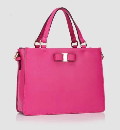 Túi xách Nữ hồng - Da thật