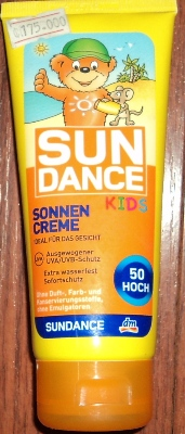 Kem chống nắng SUNDANCE toàn thân loại dành cho trẻ em