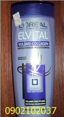 Dầu gội đầu Loréal ELVITAL Volume-collagen (Pháp) 250ml