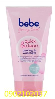Sữa rửa mặt bebe Young Care Quick & Clean Peeling & Waschgel