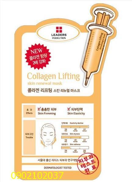 Mặt nạ đặc trị Leaders Hàn Quốc Collagen Lifting