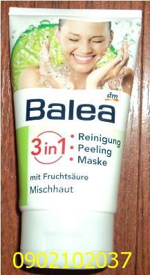 Sữa rửa mặt Balea 3 trong 1