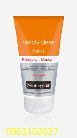 Sữa rửa mặt & mặt nạ 2 trong 1 Neutrogena Visibly Clear 2 in 1 WASH & MASK