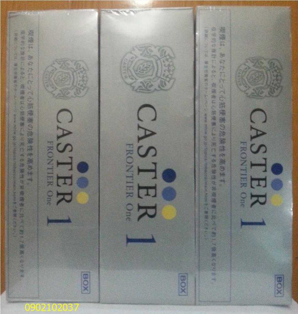 Thuốc lá Caster 1 hàng Nhật xịn 100%