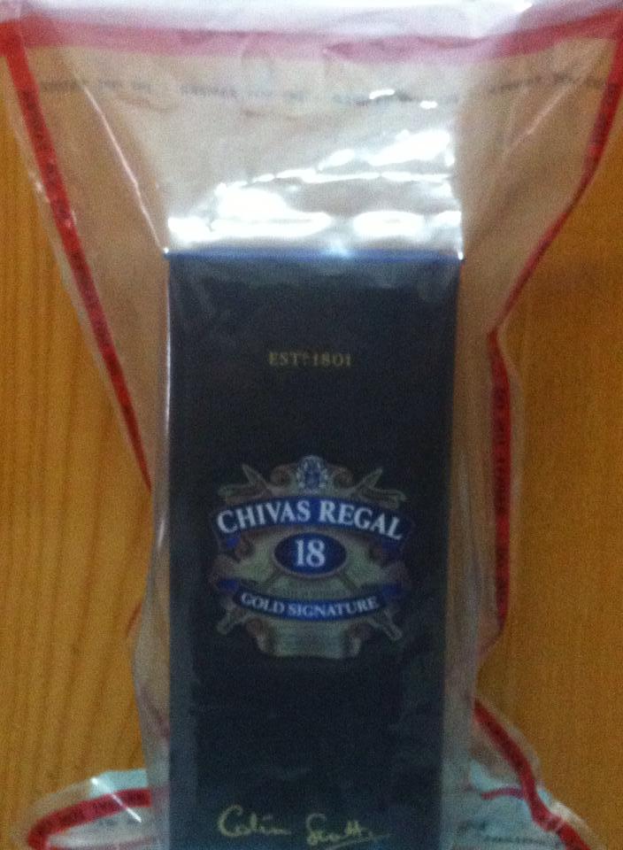 Rượu Chivas 18 năm - 1000ml - Hàng Châu Âu - Duty free shop xách ta...