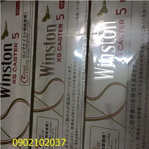 Thuốc lá Caster 1,  3, 5, 7 hàng Nhật xịn 100%