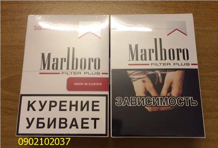 Thuốc lá Marlboro - Nga hàng duty free xuất Mỹ