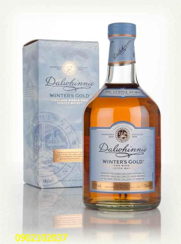 Rượu Dalwhinnie Winters Gold Whisky - Master of Malt Scotland xịn 100%