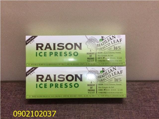 Thuốc lá Raison ICE Presso - Hàn Quốc