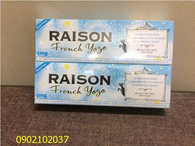 Thuốc lá Raison French Yogo - Hàn Quốc