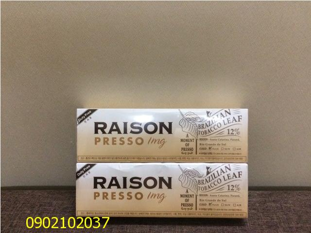 Thuốc lá Raison Presso - Hàn Quốc