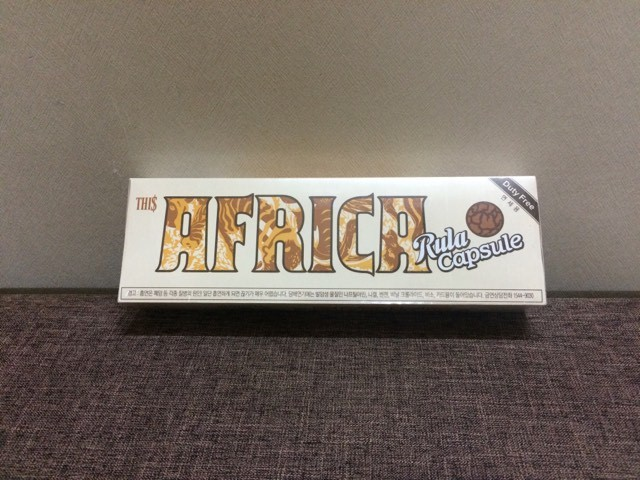 Thuốc lá Africa rula Hàn Quốc