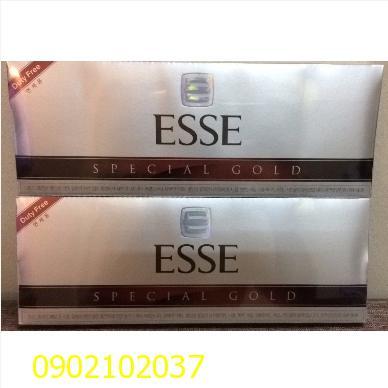 Thuốc lá Esse bạc của Hàn Quốc