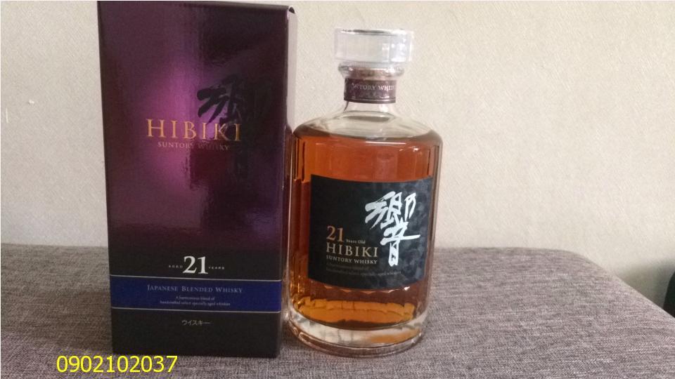 Rượu Hibiki 21 năm của Nhật