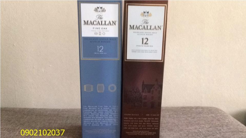 Rượu Macallant 12 năm của Nhật
