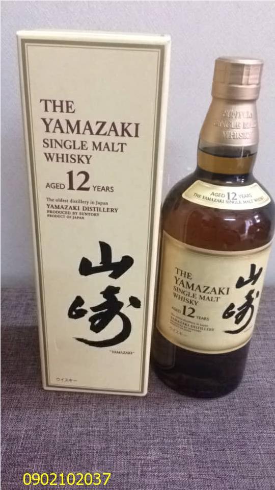 Rượu Whisky Yamazaki 12 Năm